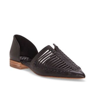 {Vince Camuto} Marinsa Woven d'Orsay Flats 7.5M